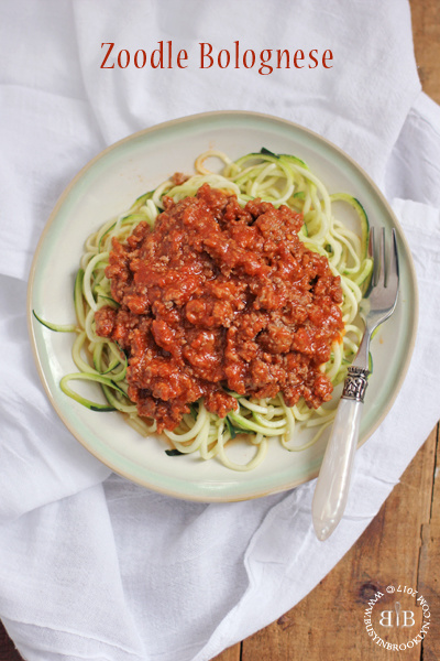 Zoodle Bolognese + Spaghetti Sloppy Joes<br>and How I Mastered Dinner