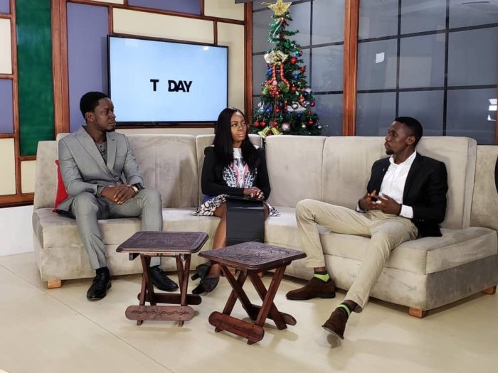 Ibrahim Kolawole Samuel, Naijablogger on Live TV on Silverbird Television Discussing how he started out as a blogger and grew millions of Follower-ship.