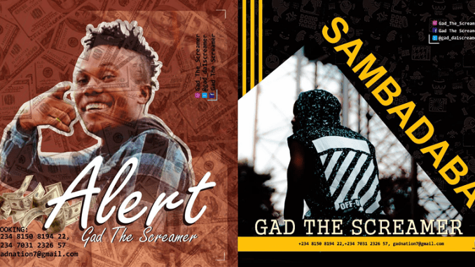 Gad The Screamer – Sambadaba & Alert