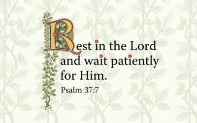 Just Some Things While Waiting Patiently For The Lord