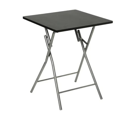 table pliante basic noir