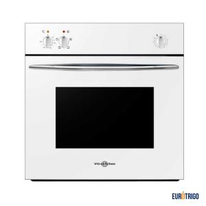 Horno de cocina para gas butano o propano de color blanco marca Vitrockitchen