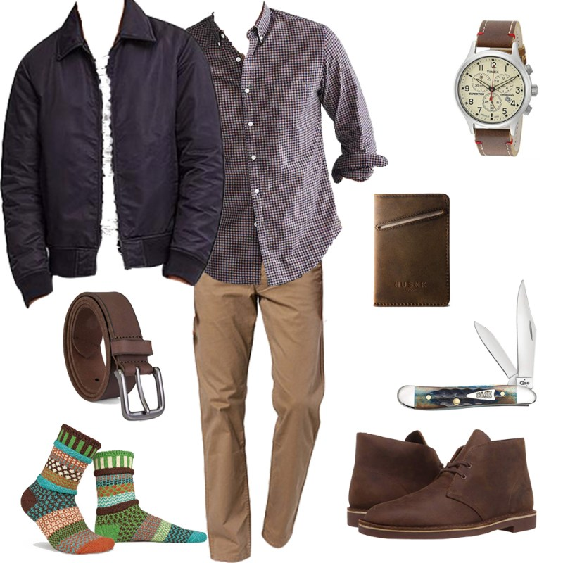 fall style collage