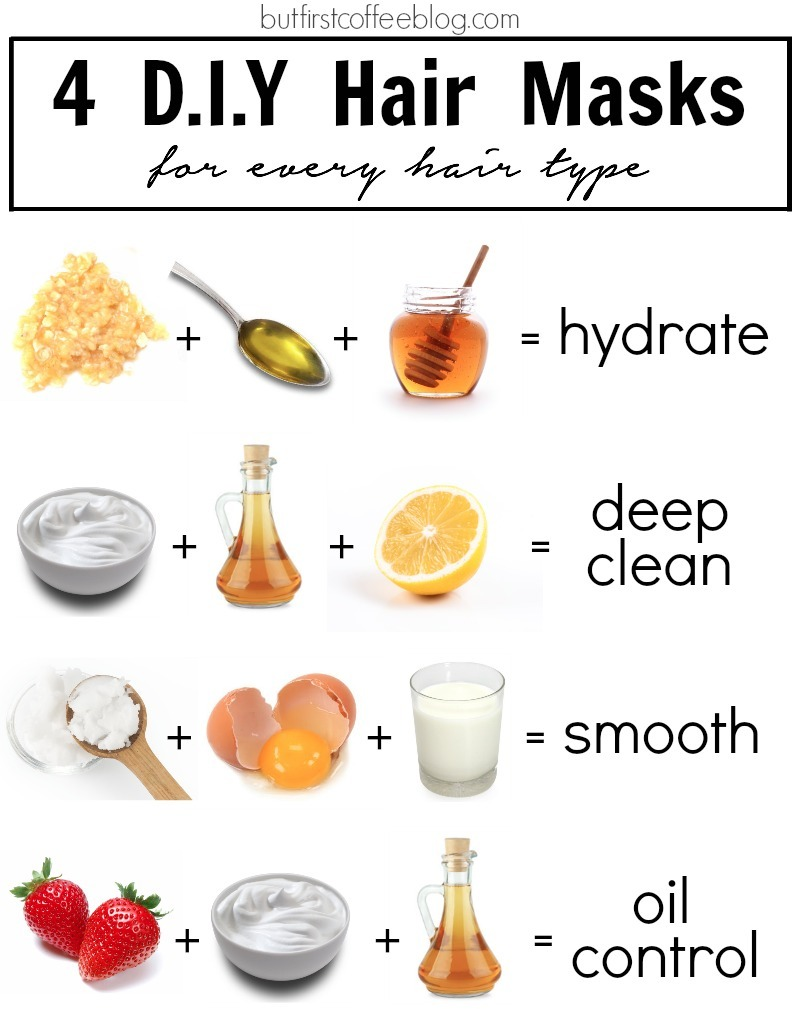 4 diy hair masks for every hair type but first coffee connecticut based life diy blog. Black Bedroom Furniture Sets. Home Design Ideas