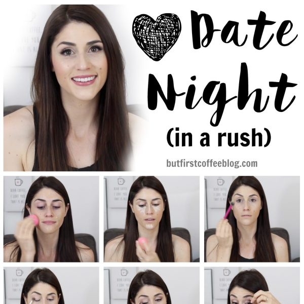 date night makeup fast