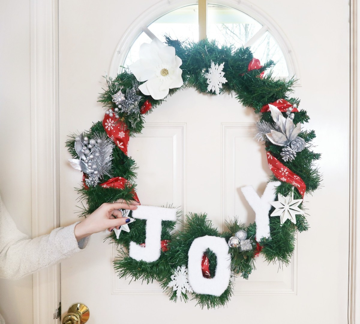 How to Make a Dollar Tree Christmas Wreath | Buy or DIY?