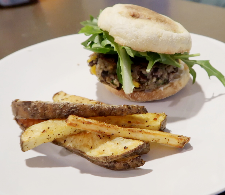 Black Bean Burger | 1 Week of Dinners for $25