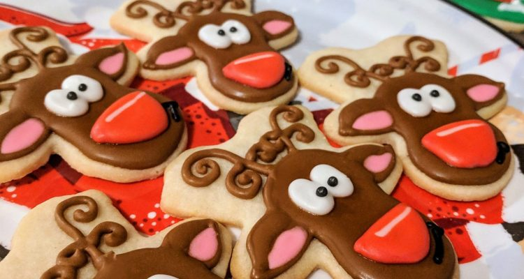 Reindeer Sugar Cookies But First Cookies