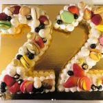 22 yaş pastası