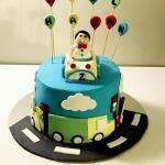 erkek bebek pastası