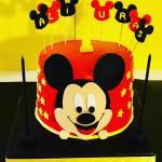 mickey mouse temalı pastamız