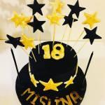 18 yaş pastası