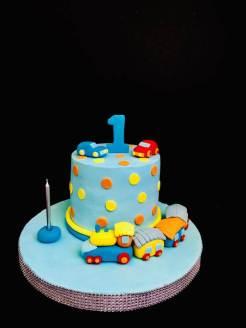 1 yaş erkek çocuk pastası
