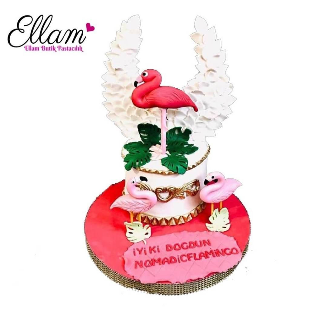 kanatlı flamingo pasta