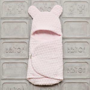 bebitof citcitli fluffy bebek kundak 02 scaled - Bebitof Çıtçıtlı Bebek Kundak Açık Pembe