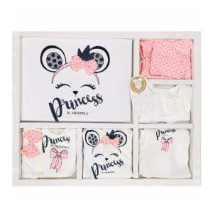 Miniworld Kız Bebek Tavşan Kulak 10lu Hastane Çıkışı Pembe 22 scaled - Miniworld Kız Bebek Prenses Yazılı 10'lu Hastane Çıkışı - Pudra