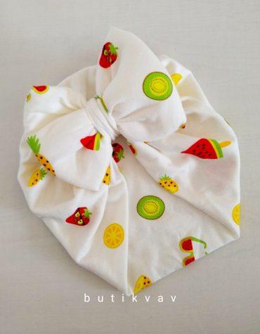 kiz bebek topuzlu bone pudra 01 scaled - Kız Bebek Fiyonklu Bone