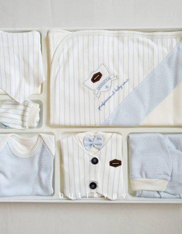 bebelinna erkek bebek arabali 10 lu hastane cikisi gri kopya 01 scaled - Bebelinna Erkek Bebek 10'lu Hastane Çıkışı - Mavi