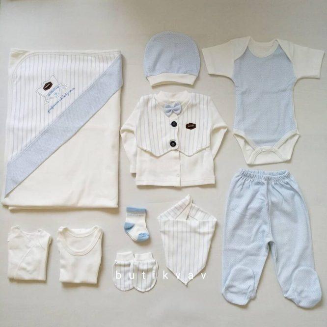 bebelinna erkek bebek arabali 10 lu hastane cikisi gri kopya 02 scaled - Bebelinna Erkek Bebek 10'lu Hastane Çıkışı - Mavi