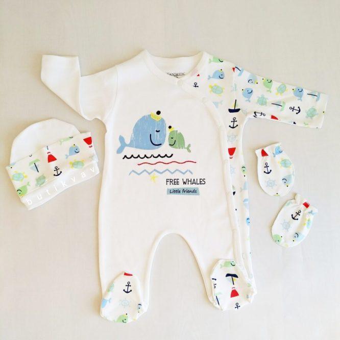 erkek bebek mutlu orman 3 lu tulum seti 0 3 ay kopya 01 scaled - Erkek Bebek Denizci 3'lü Tulum Seti 0-3 Ay