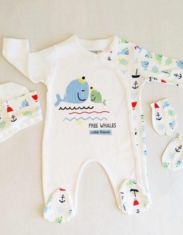erkek bebek mutlu orman 3 lu tulum seti 0 3 ay kopya 01 scaled - Erkek Bebek Denizci 3'lü Tulum Seti 3-6 Ay