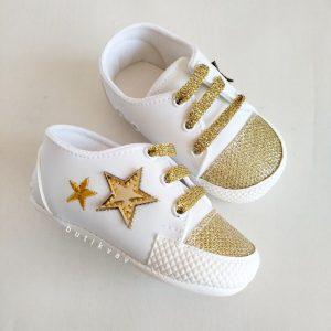 bebek converse patik bez ayakkabi 18 no 03 scaled - Erkek Bebek Yıldızlı İlk Adım Ayakkabısı