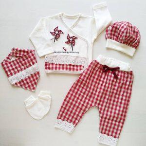 kiz bebek potikareli dantelli hastane cikis seti kopya 01 scaled - Kız Bebek Pötikareli Dantelli Hastane Çıkış Seti Kırmızı