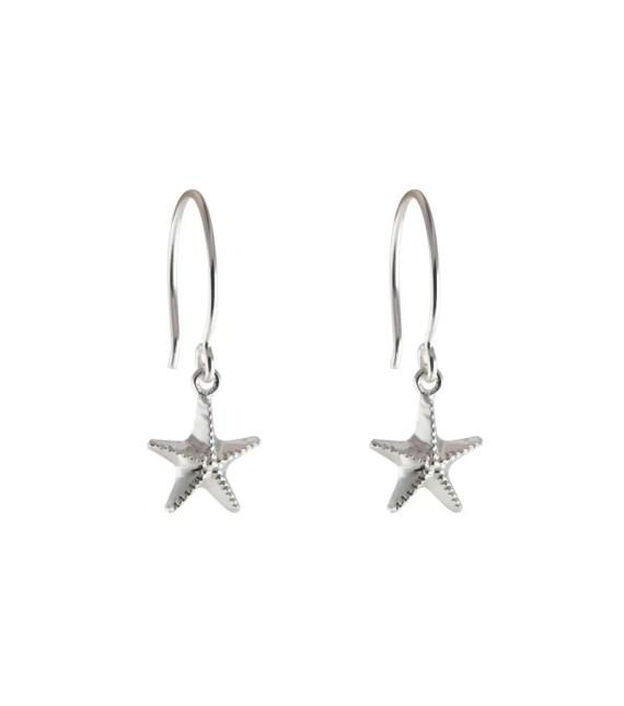 Syster P - Beaches Starfish örhänge Silver