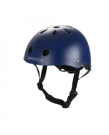 Banwood cykelhjälm blå