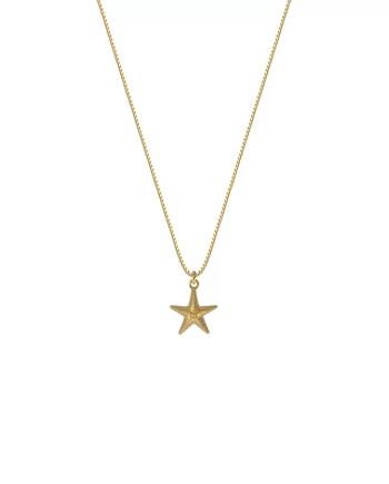 syster P halsband starfish guld