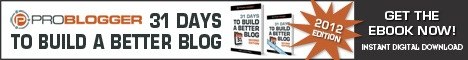 Get 31 Days to Build a Better Blog