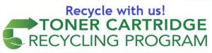 Recycle with us.