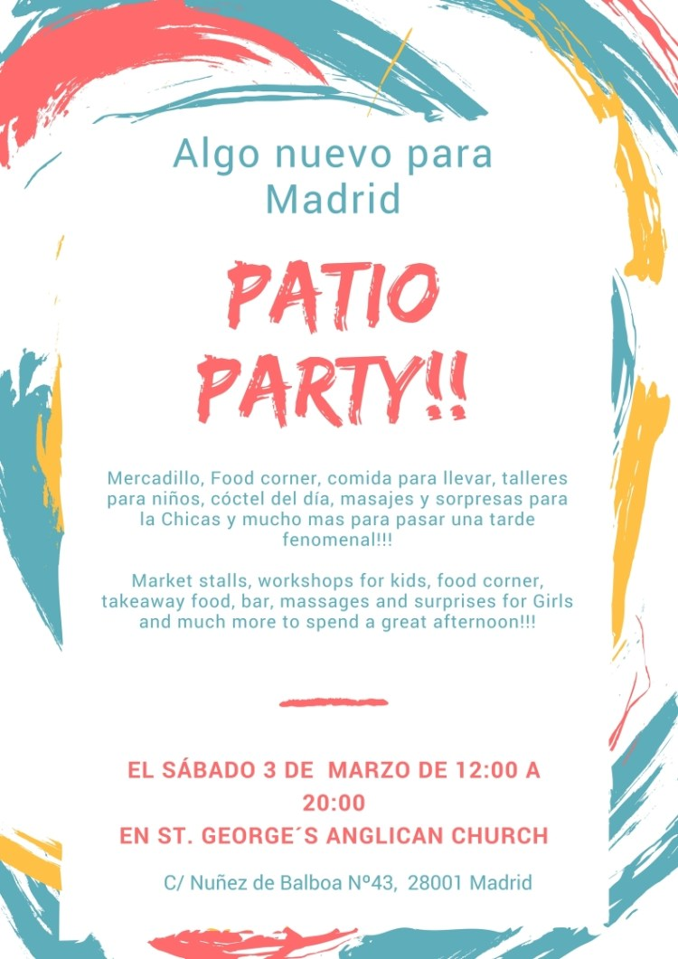 Patio Party Madrid