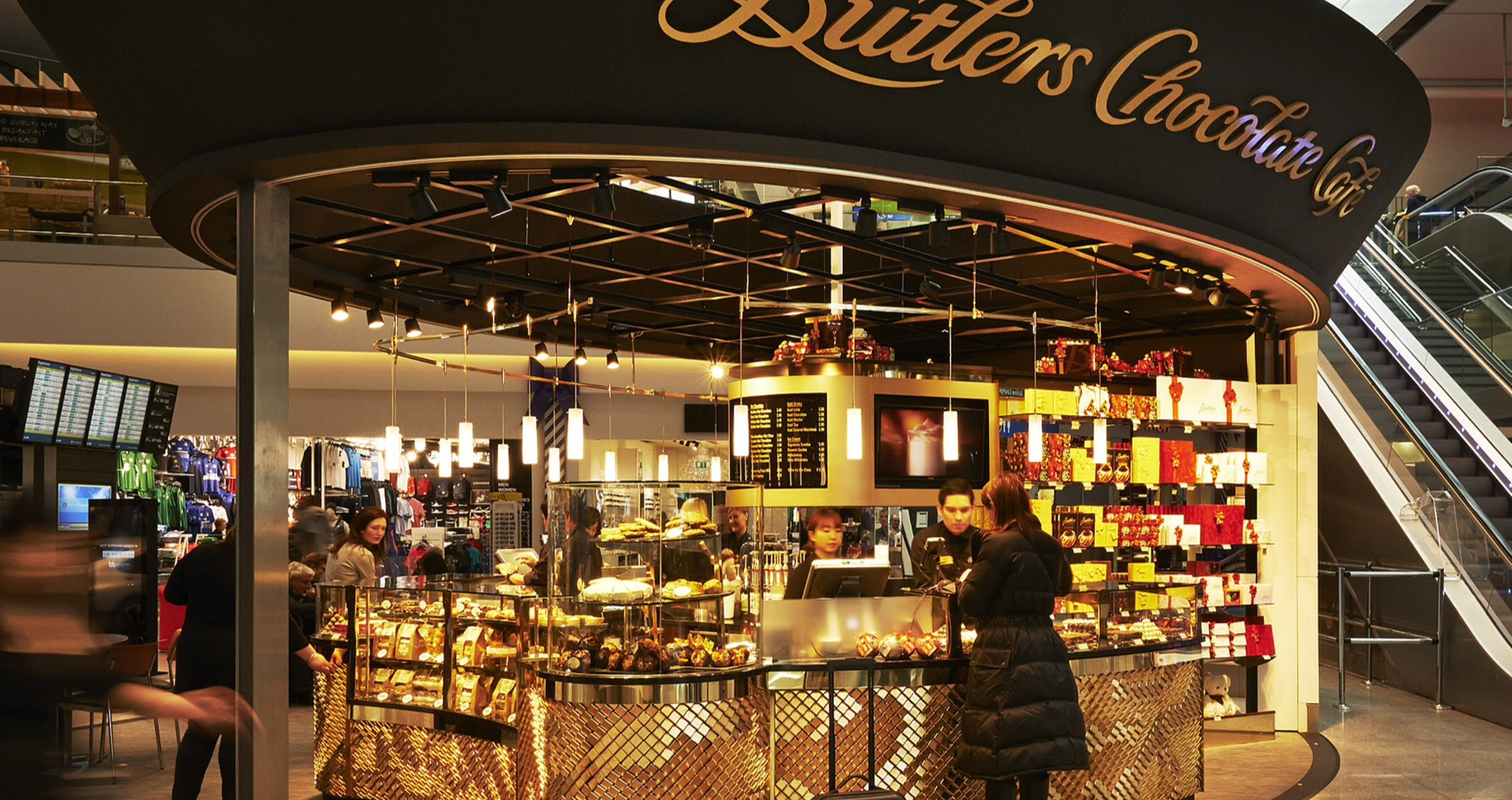 Visit Butlers Chocolate Caf Dublin Airport T2