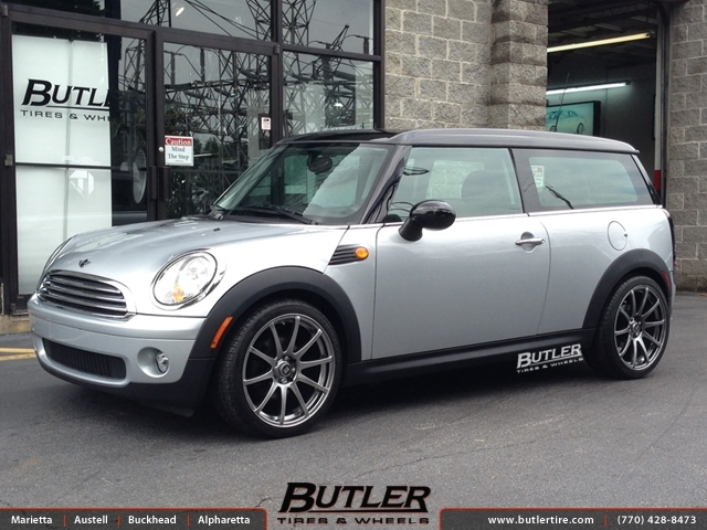 Mini Cooper With 18in Motegi Mr10 Wheels Exclusively From