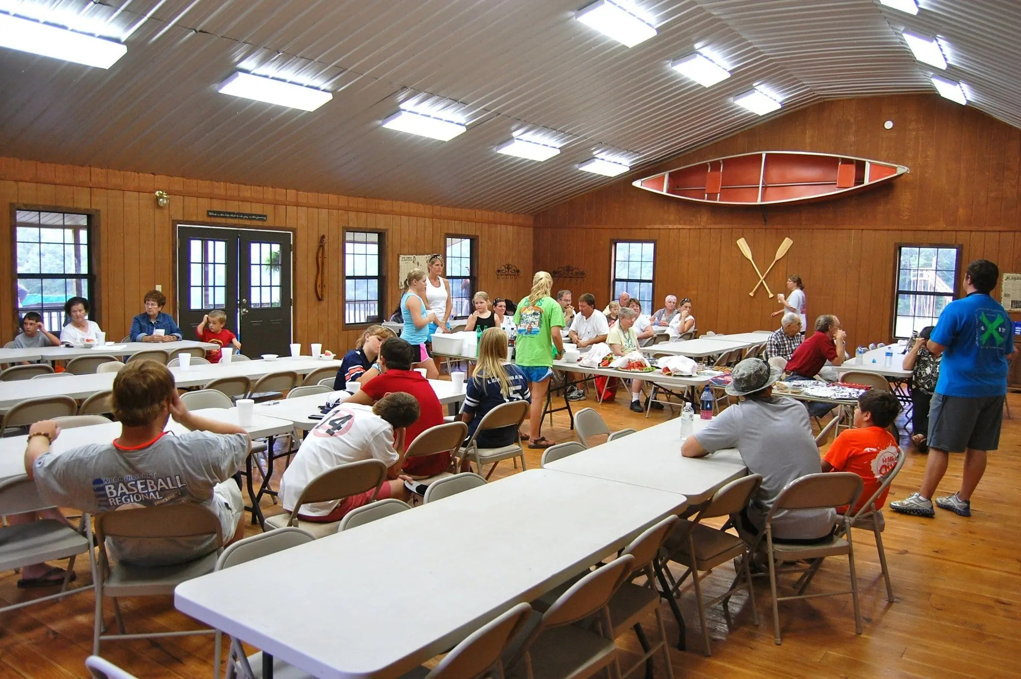 Youth Retreat at Butter and Egg Adventures Lodge Meeting Facility
