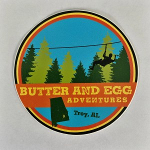 Butter and Egg Adventures Sticker
