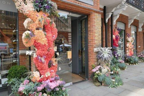Smythson's, Chelsea in Bloom, London, England