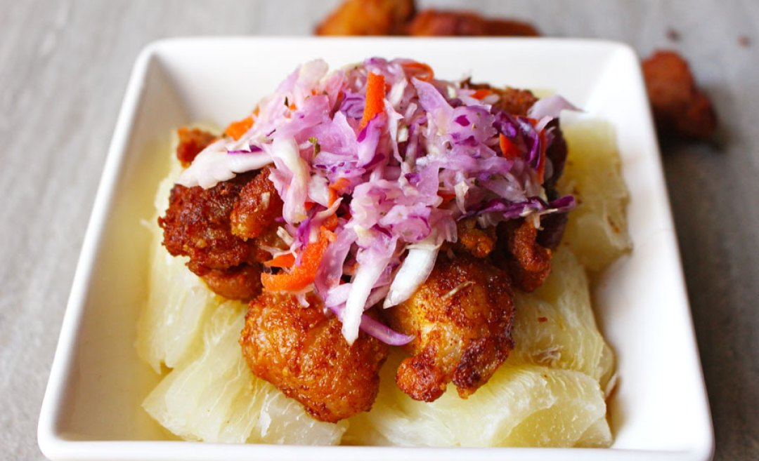 Chicharrones With Yucca | butterandthings.com