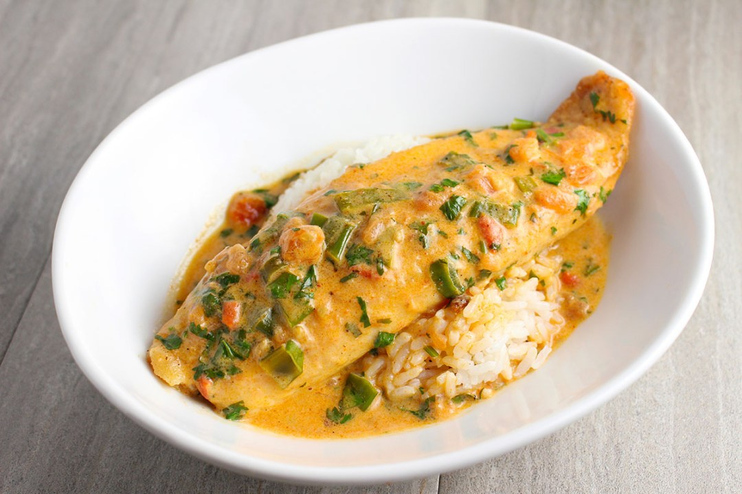 Thai Red Curry Tilapia | butterandthings.com