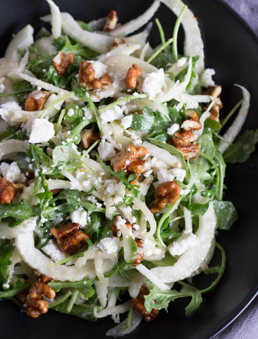 Pear-Fennel-Arugula-Salad-1 | www.butterandthings,com