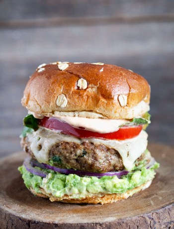 California-Turkey-Burger