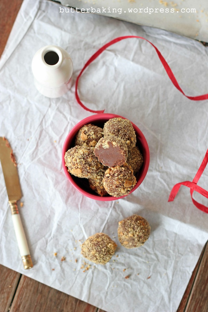 Nutella Ganache Truffles | Butter Baking