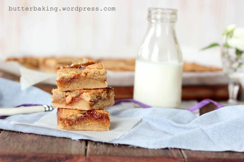 Salted Caramel Blondies | Butter Baking