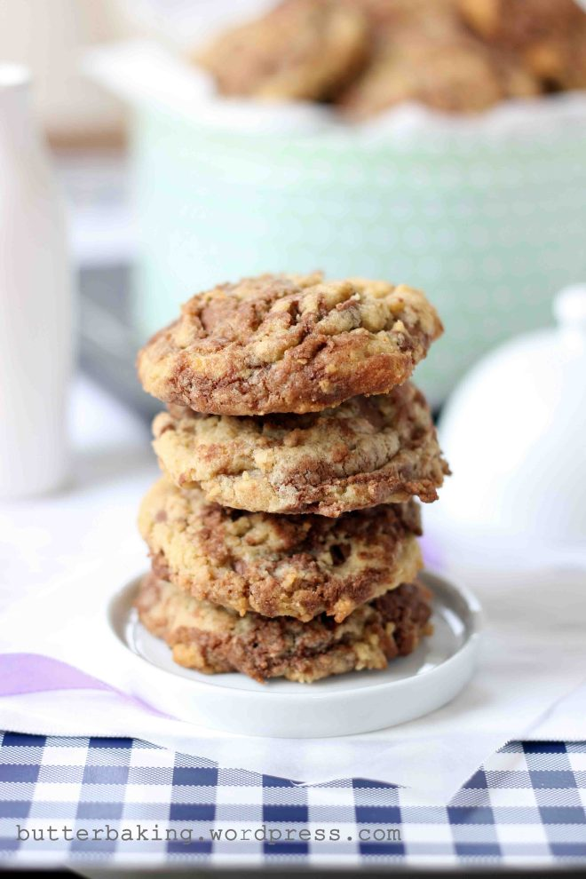 Nutella Swirled Wholewheat Cookies | Butter Baking