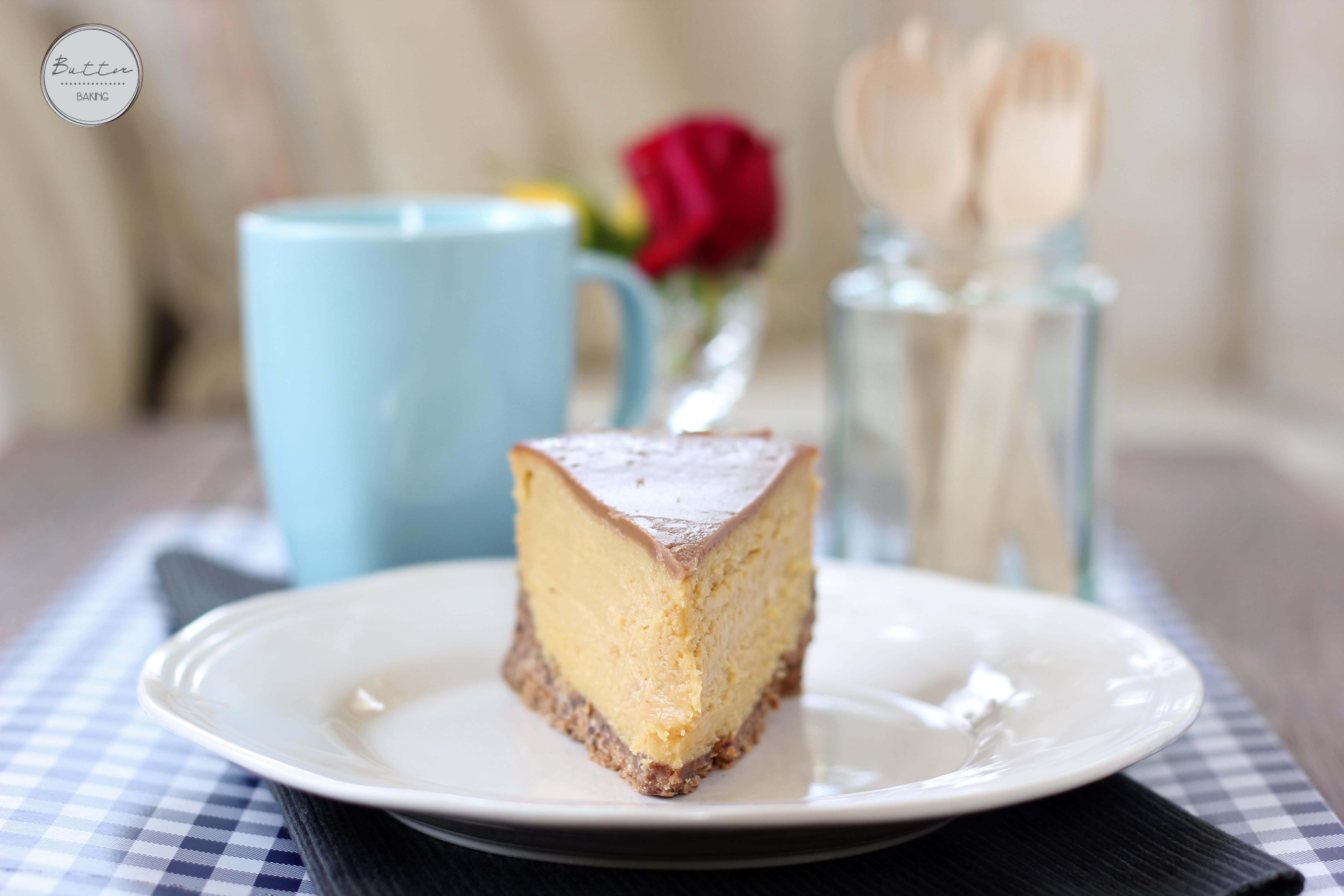 Peanut Butter And Chocolate Baked Cheesecake Nigella
