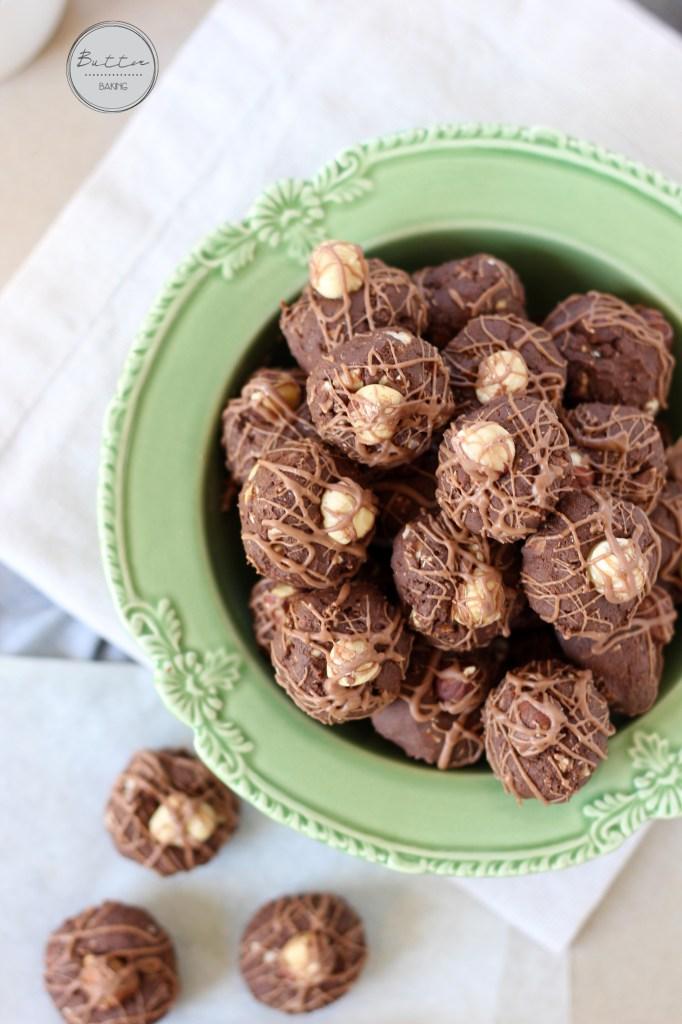 Homemade Chocolate Hazelnut Baci Chocolates | Butter Baking