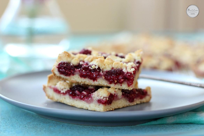 Raspberry walnut crumble bars   Butter Baking