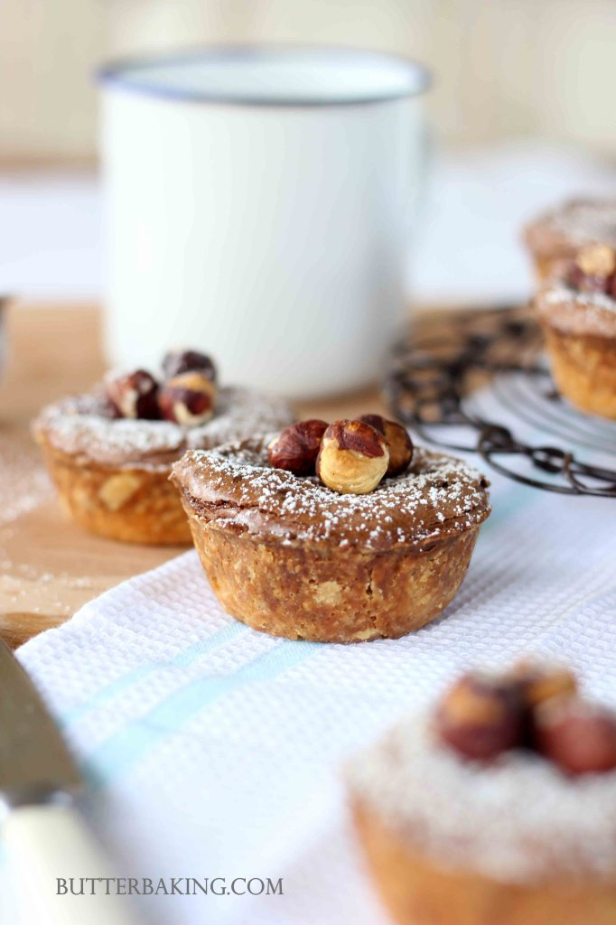 Chocolate Hazelnut Tarts | Butter Baking