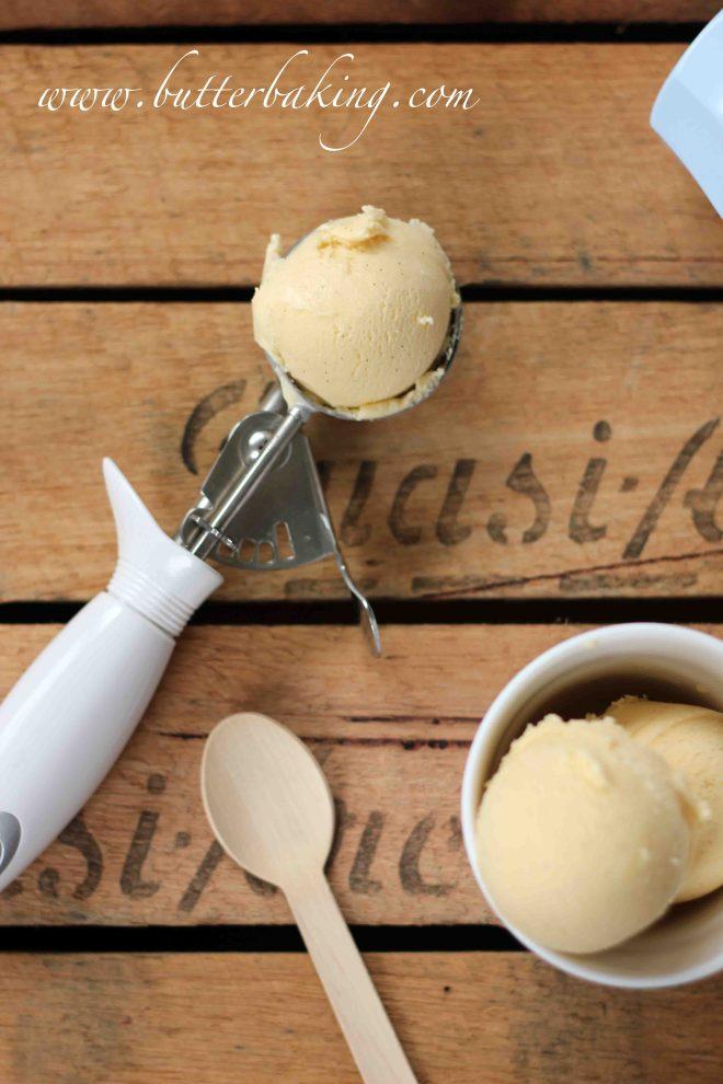 Vanilla Ice Cream | Butter Baking